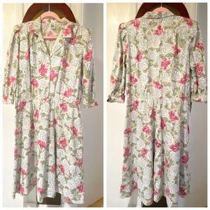 ***SOLD*** Vintage eighties floral dress